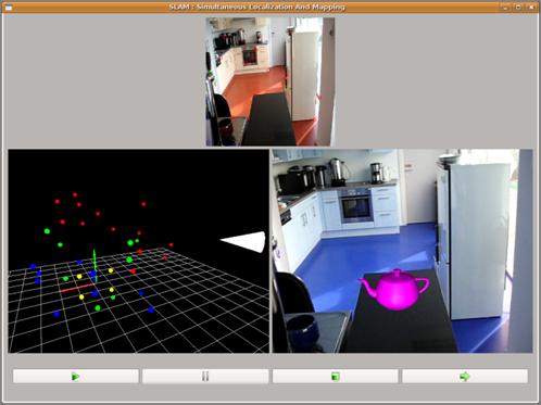 Reconstruction 3D et réalité augmentée - Multitel