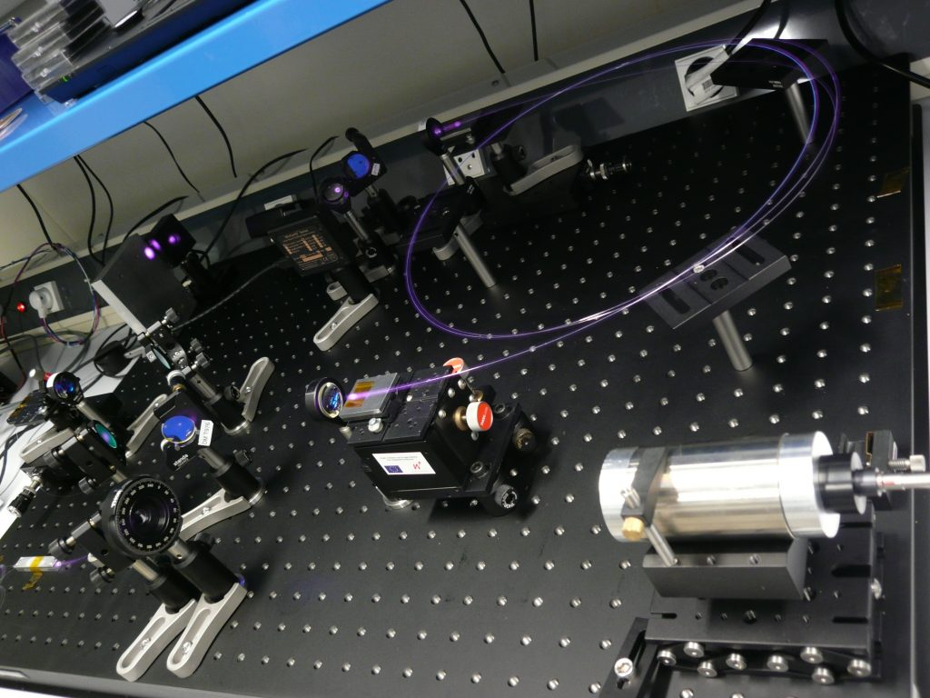 High energy Photonic Crystal laser amplifier.