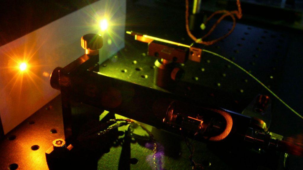 laser à fibre