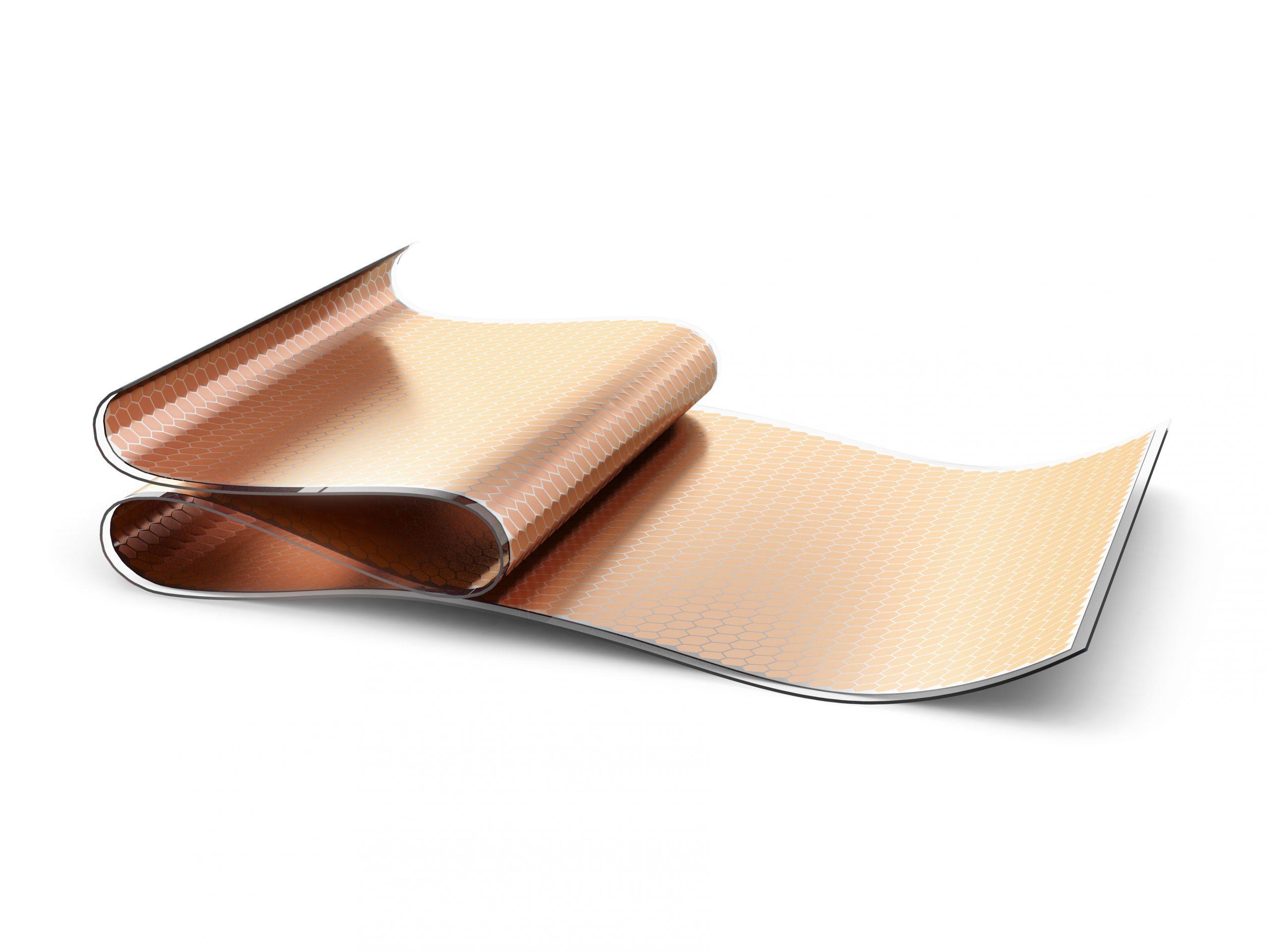 cellule solaire flexible